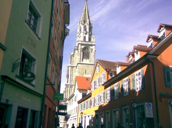 Muenster Unserer Lieben Frau : An external view, the only I could take as my battery went off.