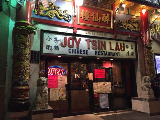 Joy Tsin Lau Chinese Restaurant Recommended By A Local As The Best In Chinatown