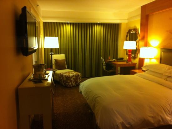 Hilton University of Houston: Another view of the king bedroom