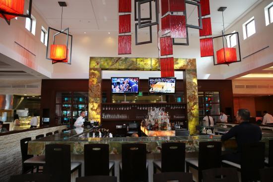 Villagio Sawgr Restaurant Italien à Sunrise Fl Bar Et Salle Intérieure