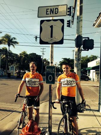 Key Largo Bicycle and Adventure Tours : 100+ miles later