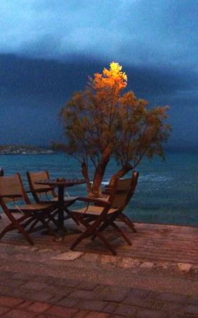 Almyrida, Greece: A view from the bar