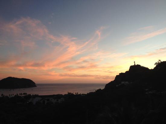 Las Palmas B&B: SJDS Bay Sunset from Las Palmas