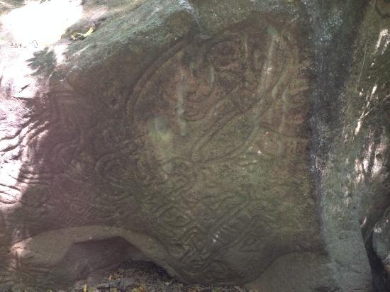 Las Palmas B&B: Petroglyph