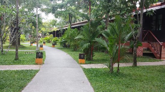 Sangswan Resort: Jardin