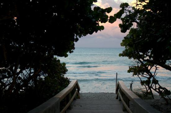 จูปีเตอร์, ฟลอริด้า: way to the beach