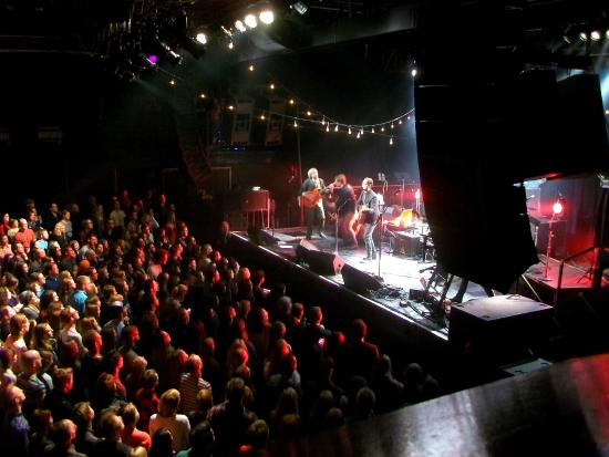First Avenue: limited view from upper level