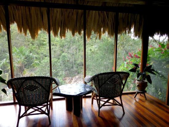 Blancaneaux Lodge: Views from FFC Villa