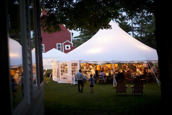 Inn at Valley Farms Tented area for reception next to the main inn & Tented area for reception next to the main inn - Picture of Inn at ...