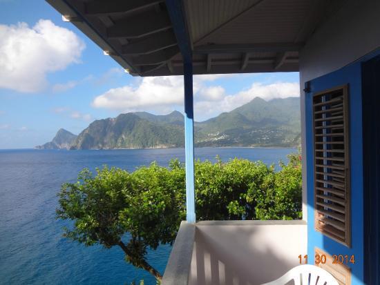 Zandoli Inn: View from the room balcony.