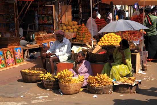 Devaraja Market: typische Szene am Markt