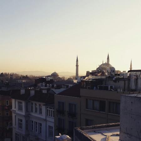 Ayasultan Hotel: Вид из столовой