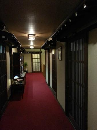 Oyado Yamakyu: Our rooms from the corridor