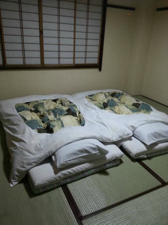 Oyado Yamakyu: Our beds made up