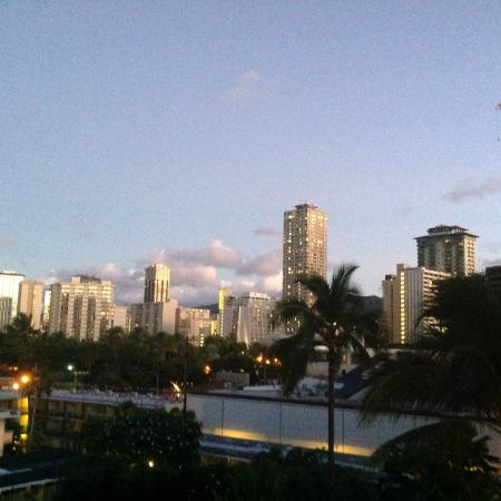 Regency on Beachwalk Waikiki by Outrigger : view from our balcony