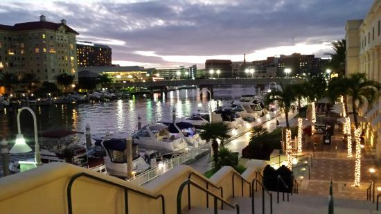 Genial Tampa Marriott Waterside Hotel U0026 Marina: This Is The Patio At The Back Of  The