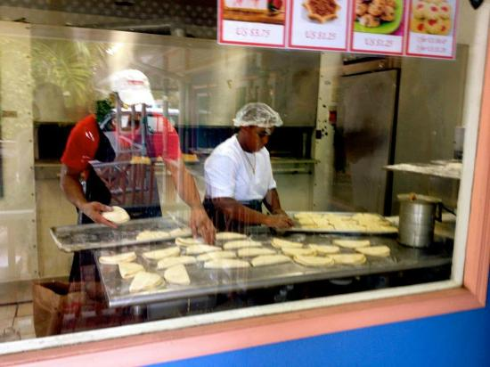 "Tortuga Rum and Rum Cake Factory: The ""Bakery."""