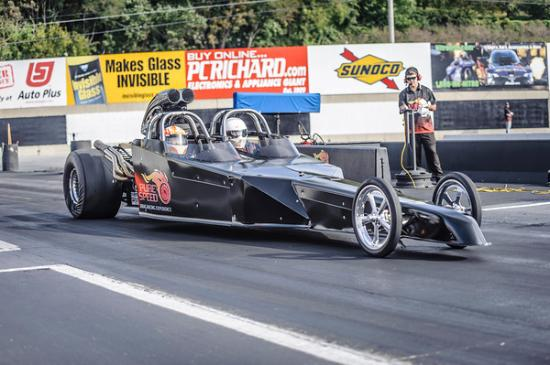 Dragster Blast Ride Along - Picture of Pure Speed Drag