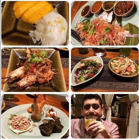 Isaan Thai Restaurant : Wonderful menu! enjoyed every taste!