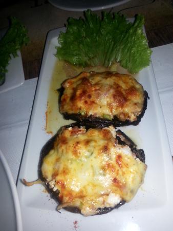 Pindos Resort: Comidas típicas deliciosas!