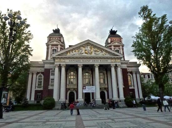 Ivan Vazov National Theater: Front