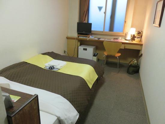 Hotel 1-2-3 Kofu Shingen Onsen: 禁煙シングル