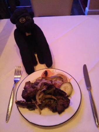 Achari: lamb chops