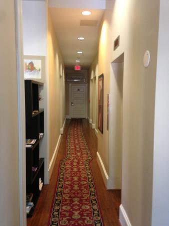 Hotel Brexton: Hotel hallway