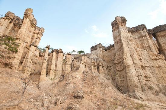 Iringa, Tanzânia: Lungo il canyon