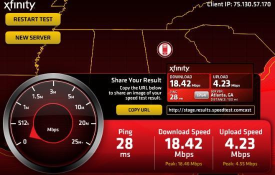 Econo Lodge Inn & Suites: Great internet speeds