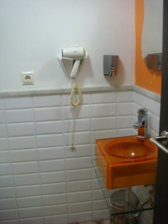 Hospederia Alma Andalusi: Vista do banheiro