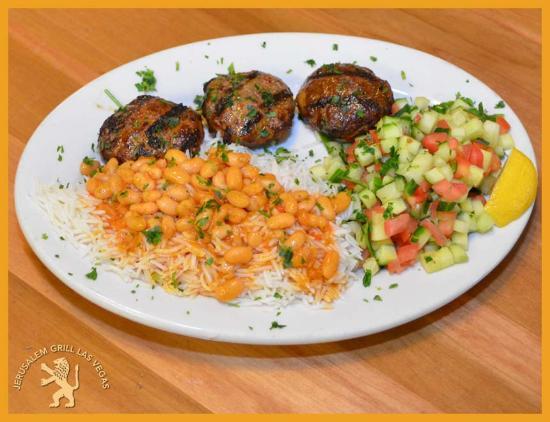 Jerusalem Grill Vegas: Beef Kabob