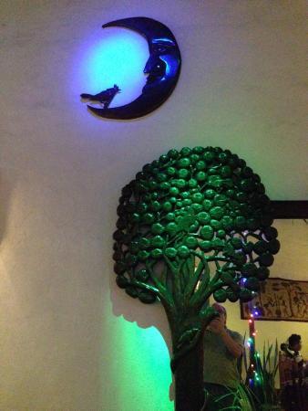 Restaurante La Luna : La Luna main decor