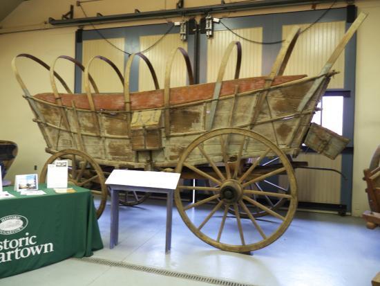 Historic Sugartown: Carriage Museum exhibit