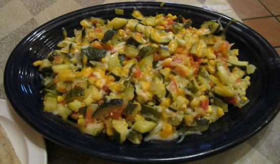 Rigo's Mexican Restaurant: Calabacitas (large side portion)