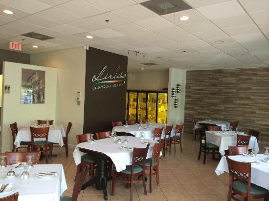Lirio's Italian Restaurant: New Lirio's look