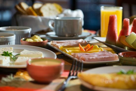 Kuriuwa Hotel: Café da manhã