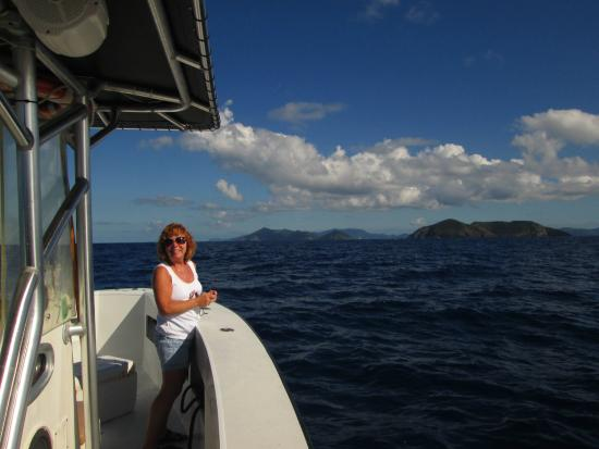 Dinner picture of double header sportfishing st for Deep sea fishing st thomas
