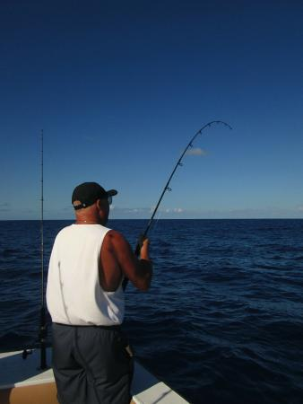 Fishing picture of double header sportfishing st for Deep sea fishing st thomas