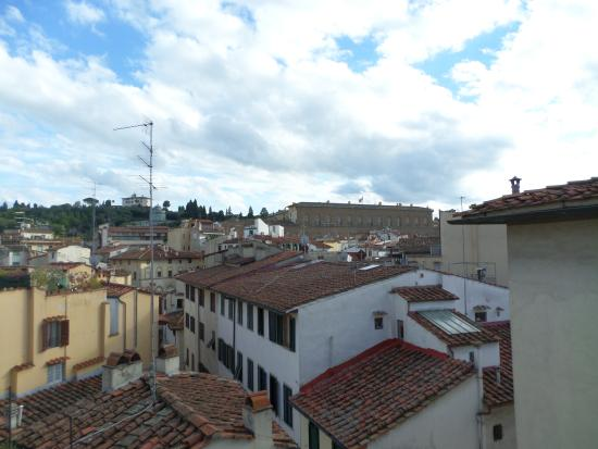 Residenza D'epoca San Jacopo : Vista da sacada para os fundos do prédio