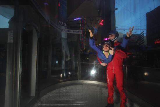 iFLY Hollywood Indoor Skydiving: Fly2