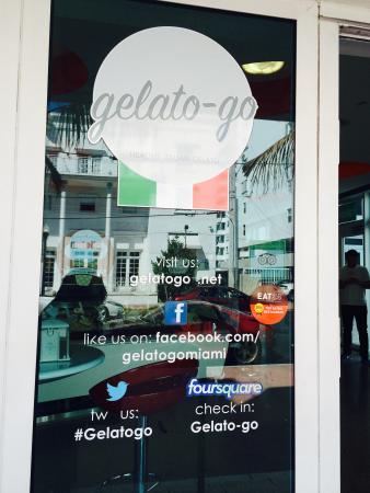Gelato-go South Beach : view