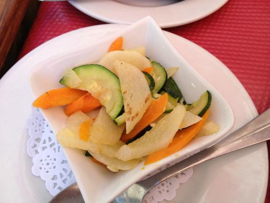 Le Petit Flore : side dish pickles