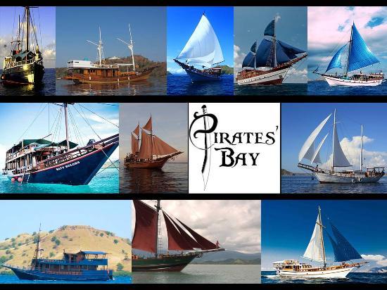 pirates bay cruising komodo
