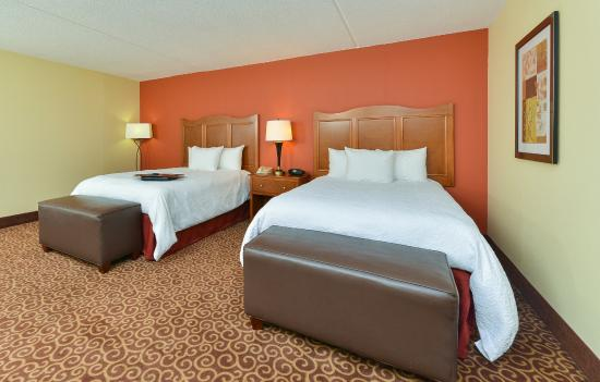 Hampton Inn Chicago-Carol Stream : 2 Beds