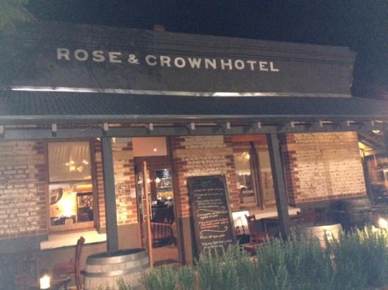 Rose & Crown: Rose and Crown entry