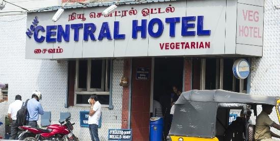 Chennai Central Railway Station New Hotel Restaurant