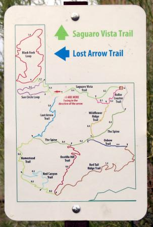 Trail Map of Sweetwater Preserve