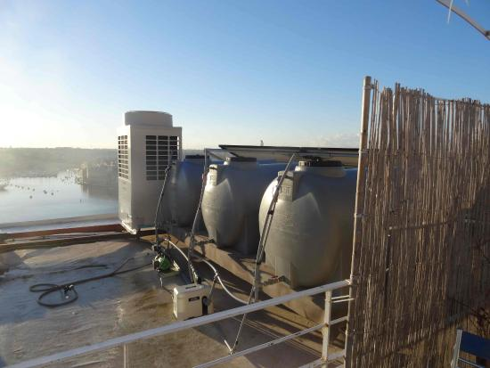 Castille Suites: une partie de la vue de la terrasse