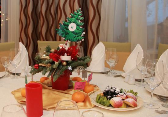 Bega Hotel: Новогодняя сервировка